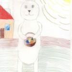 Олеся Храпова 8 лет Рижская Средняя школа Н 72